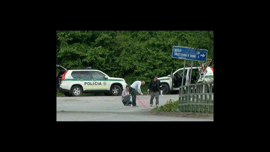 Video Slovenští policisté zadrželi kanibala