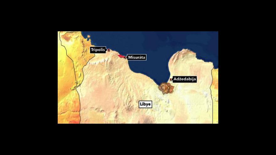 Video Povstalci postoupili dál od Misuráty
