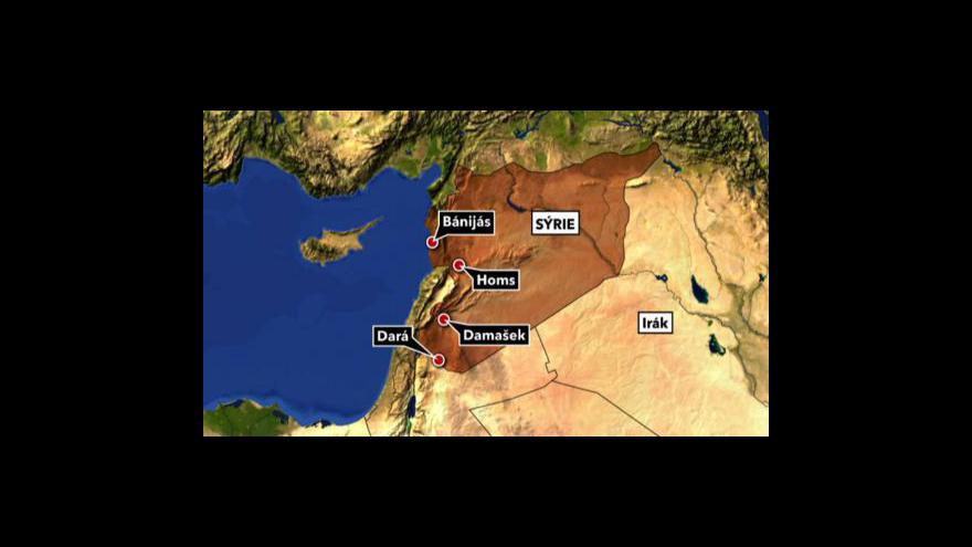 Video Neklid a napětí v Sýrii pokračují