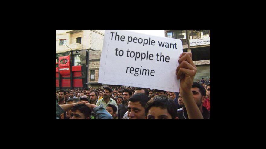 Video Desítky mrtvých při protestech v Sýrii