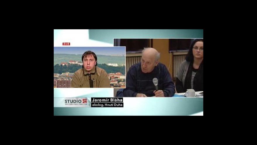Video Ekolog Jaromír Bláha ve Studiu ČT24