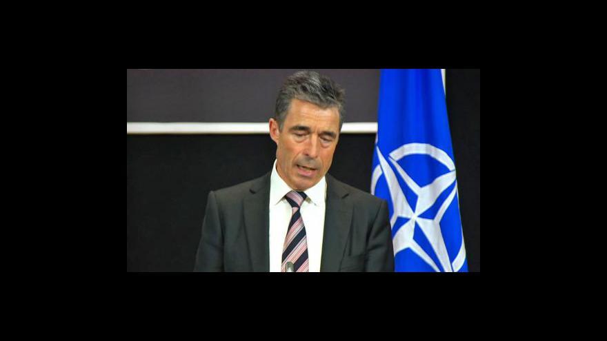 Video Generální tajemník NATO ke smrti bin Ládina