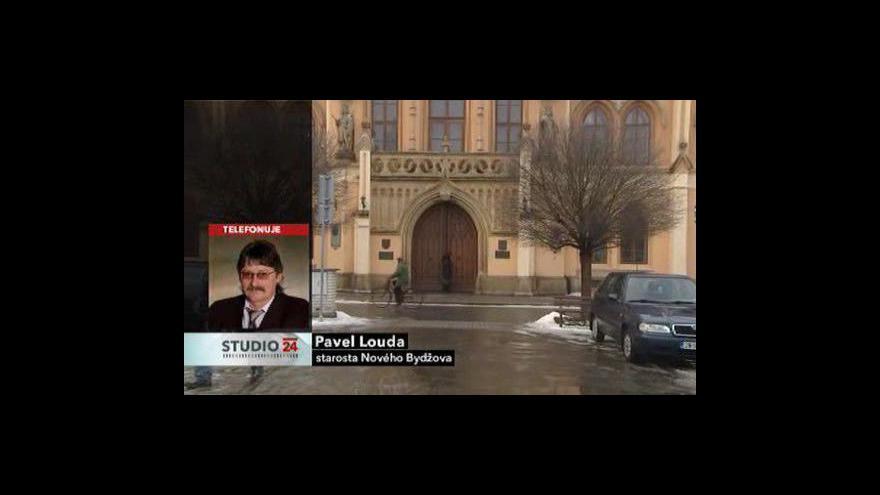 Video Starosta Pavel Louda ve Studiu ČT24