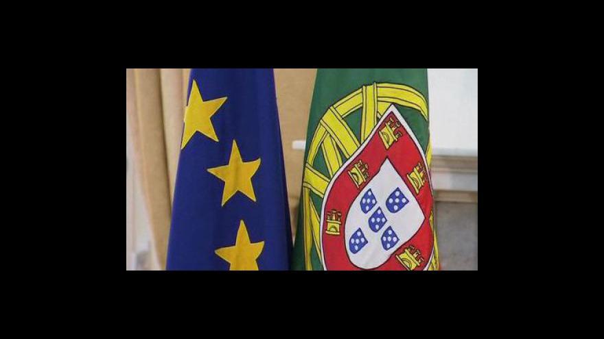 Video Portugalsko přijalo záchranný ekonomický plán