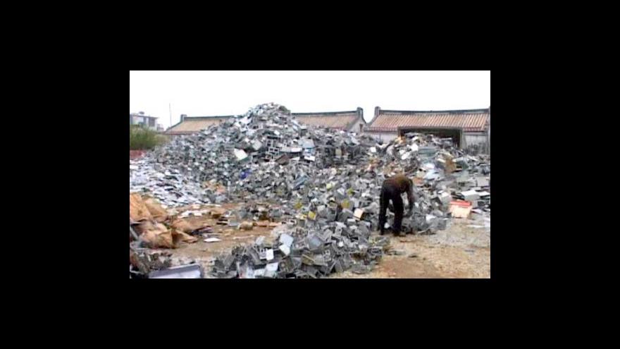 Video Elektroodpad v Číně