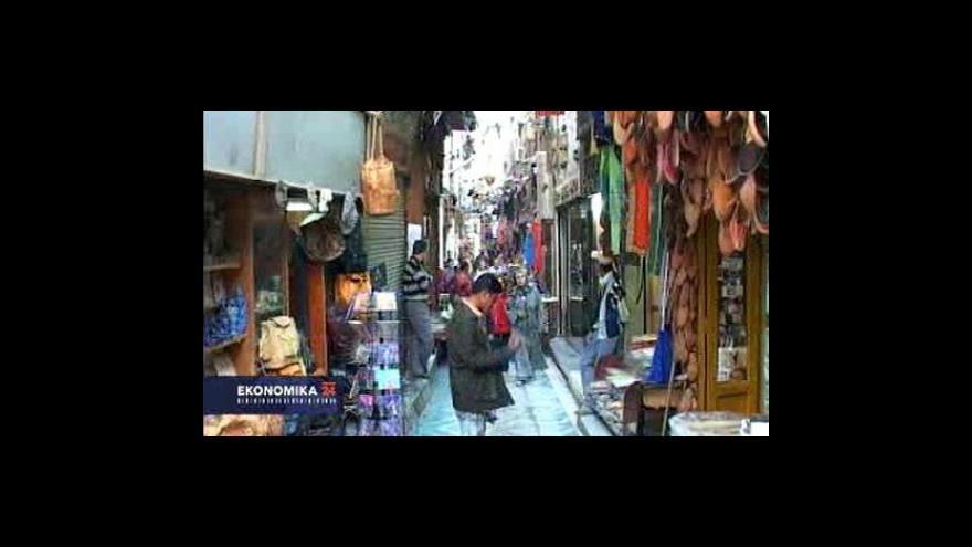 Video Turisté v Egyptě
