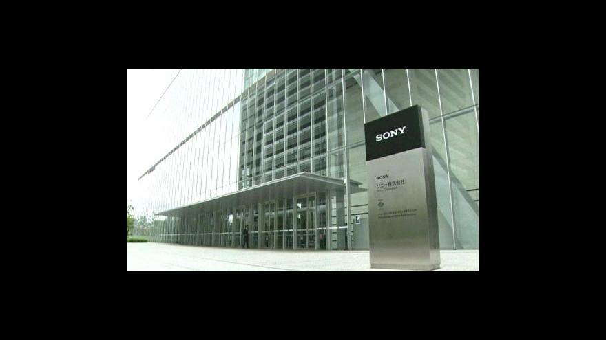 Video Další útok na Sony
