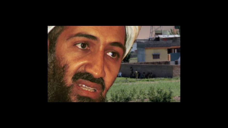 Video Dopolední Studio ČT24 ke smrti bin Ládina
