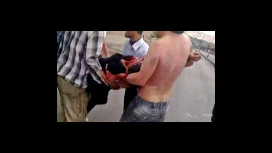 Video Při protestech v Sýrii přišlo o život víc jak 600 lidí