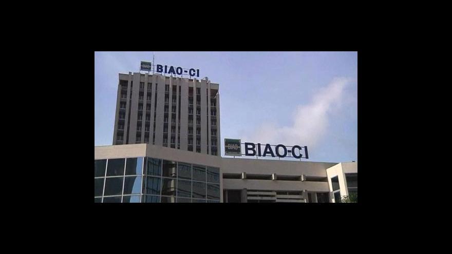 Video Banky v Pobřeží slonoviny otevřely