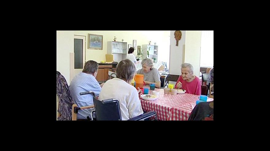 Video Dotace na sociální služby tématem Studia ČT24