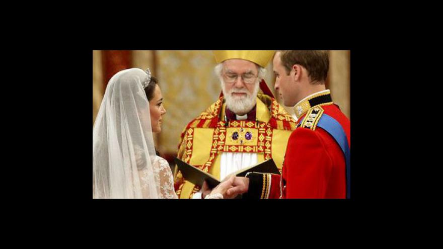 Video Královská svatba tématem Událostí, komentářů