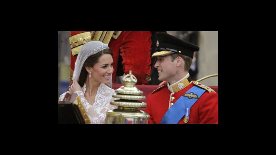 Video Británie zažila královskou svatbu