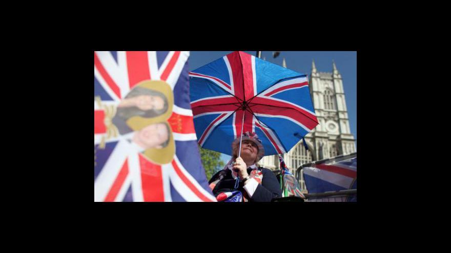 Video Londýn je obsazen: Královská svatba začíná