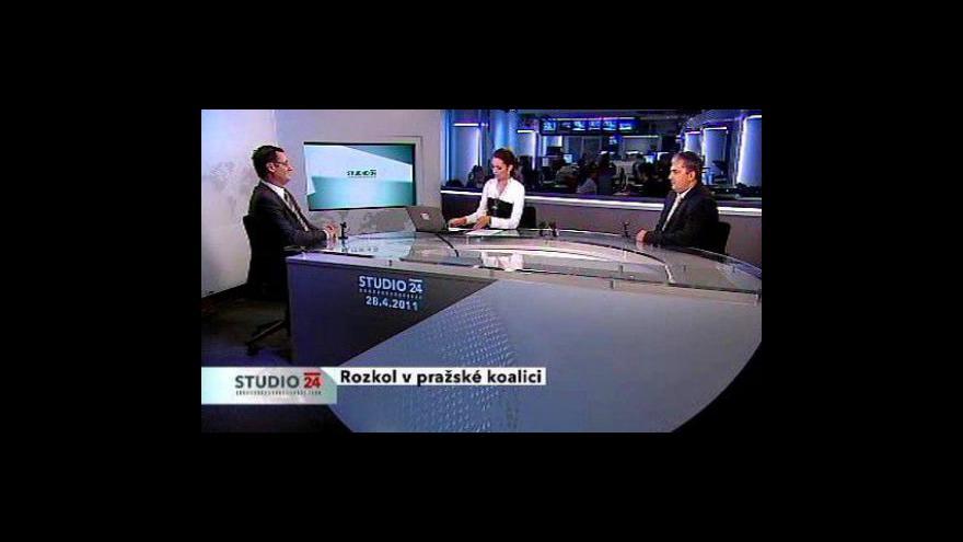 Video Boris Šťastný a Petr Hulínský ve Studiu ČT24