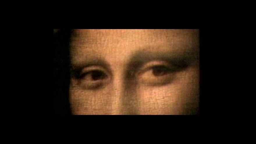 Video Ve Florencii se pátrá po hrobu Mony Lisy