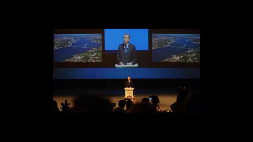 Video Projekt kanálu mezi Černým a Marmarským mořem