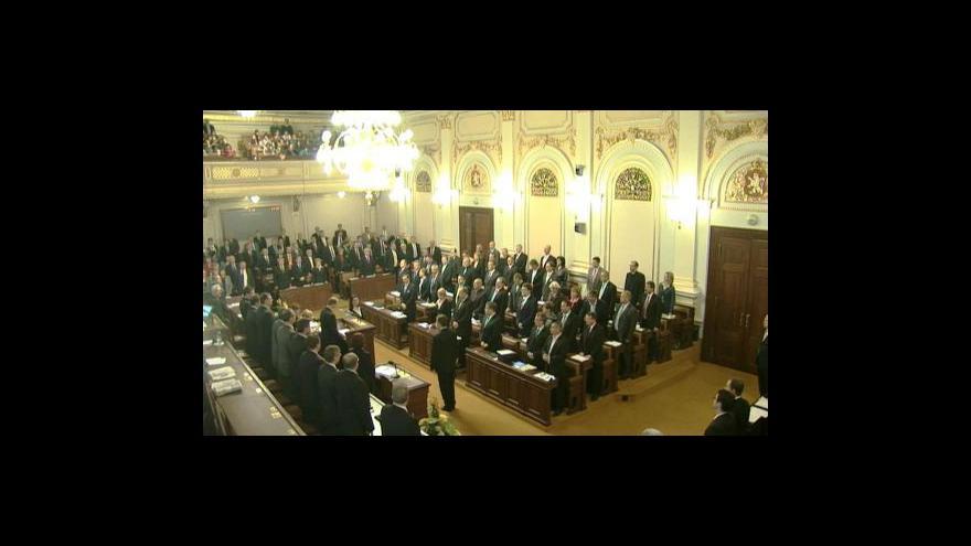 Video Vstup Olgy Málkové a reportáž Lukáše Dolanského