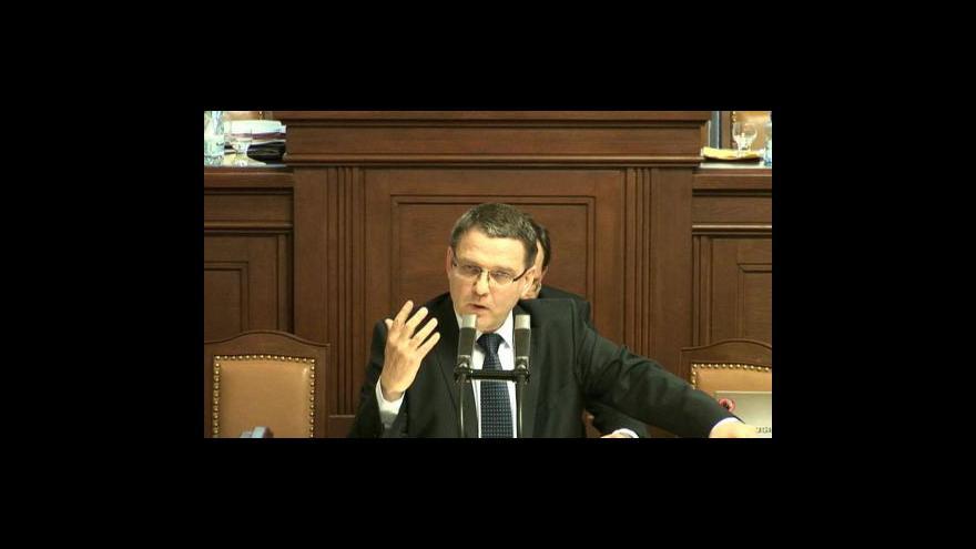 Video Projev Lubomíra Zaorálka
