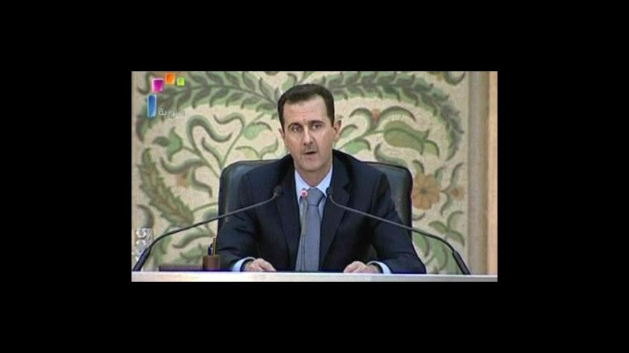 Video V Sýrii pokračují protesty