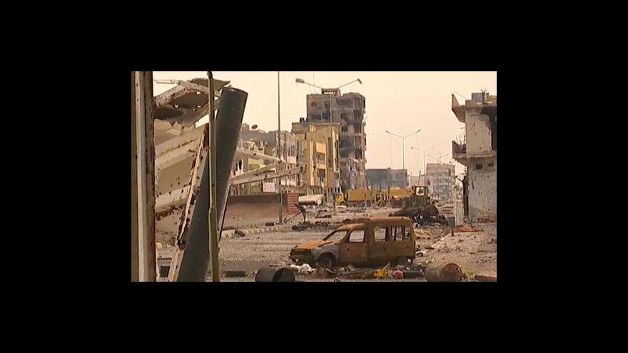 Video Boje v Misurátě pokračují