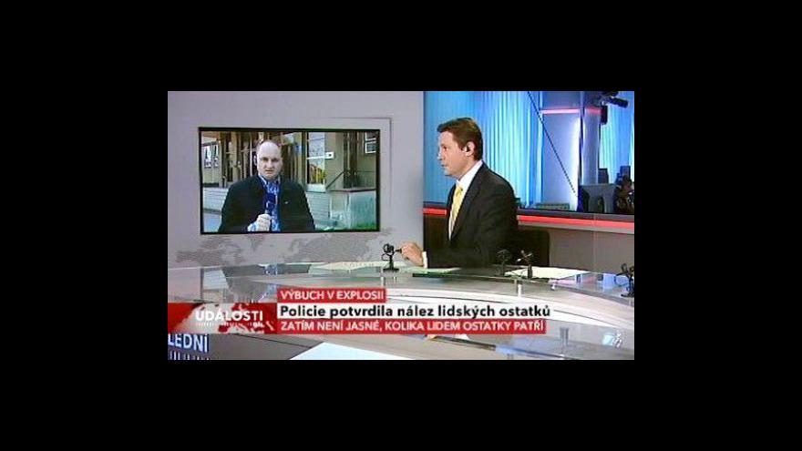 Video Michal Klokočník živě z Pardubic