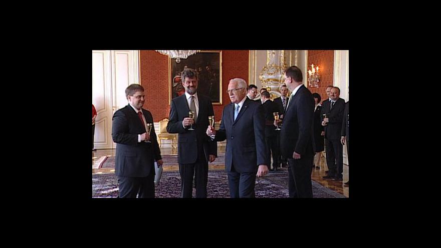 Video Noví ministři a jejich záměry