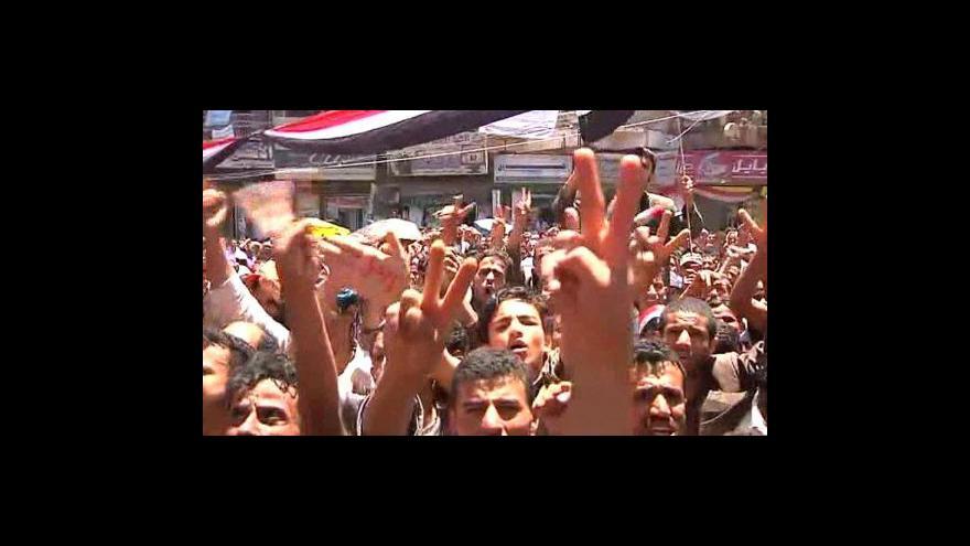 Video V Jemenu se dál protestuje