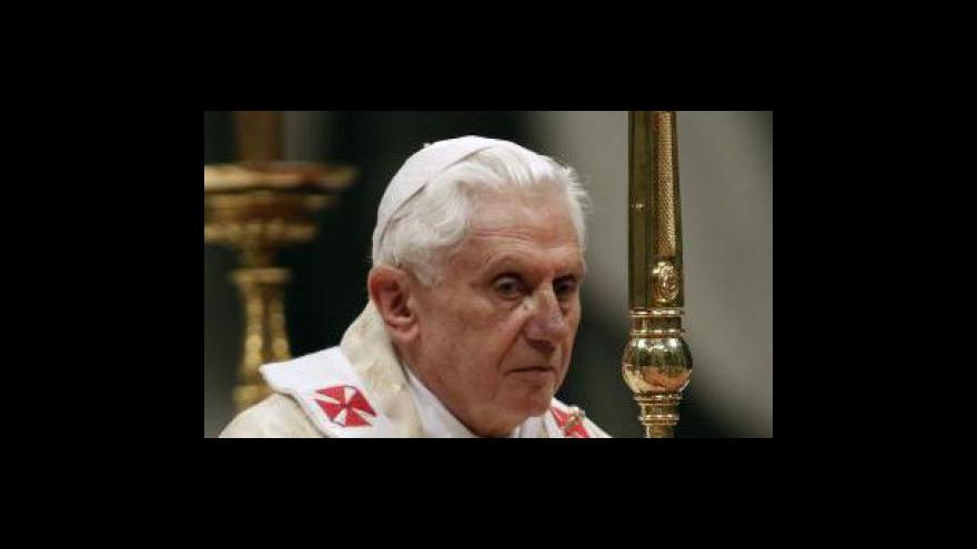 Video Rozhovor s velvyslancem ve Vatikánu Pavlem Vošalíkem