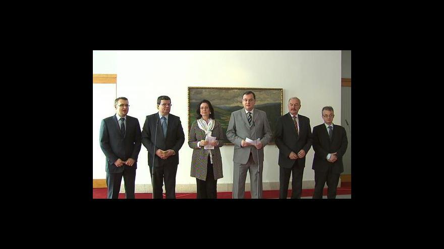 Video Brífink ODS ke koaliční dohodě