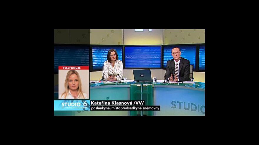 Video Rozhovor s Kateřinou Klasnovou, Janou Černochovou a Janem Husákem