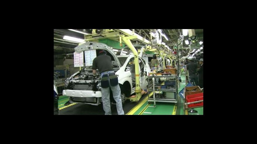 Video Toyota vyrábí naplno