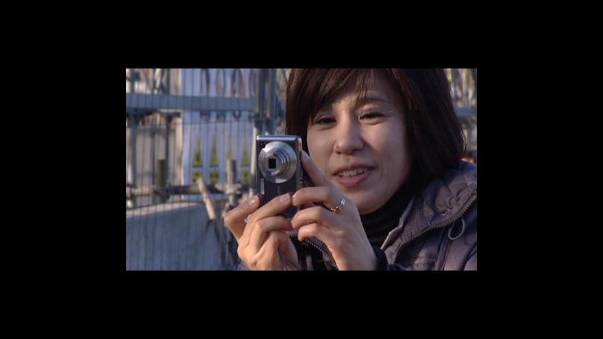 Video Čínští turisté v Česku