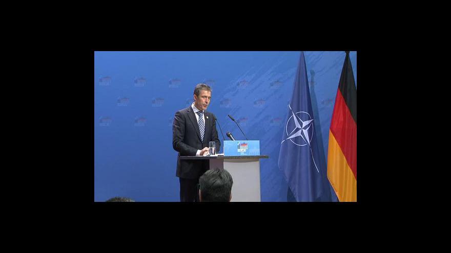 Video Brífink generálního tajemníka NATO