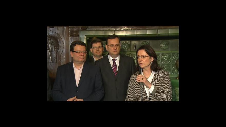 Video Brífink ODS po jednání grémia