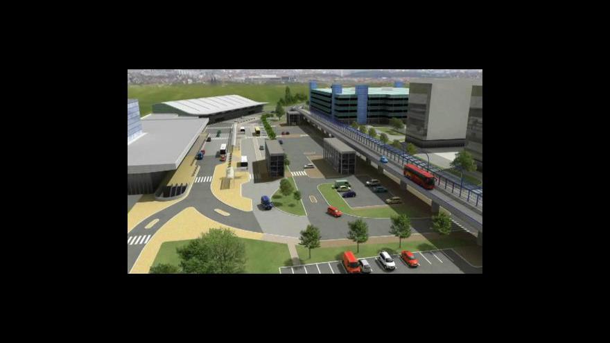 Video Ruzyňské letiště nejlépe obslouží železnice