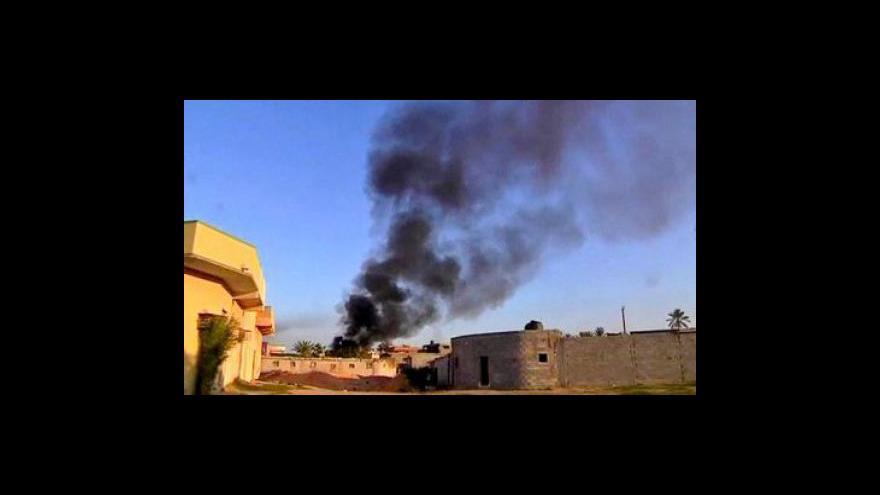 Video Situace v Libyi tématem Událostí, komentářů
