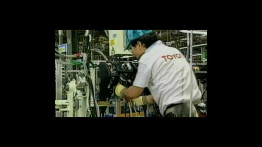 Video Toyota přerušuje výrobu v Evropě