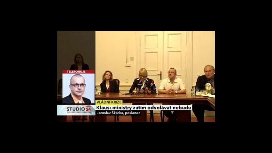 Video Rozhovor s Jaroslavem Škárkou