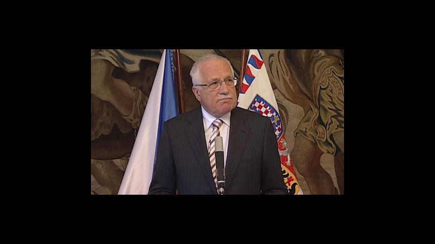 Video Brífink Václava Klause