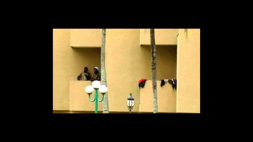 Video Střety v Abidžanu pokračují