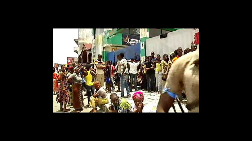 Video Nové boje v Abidžanu