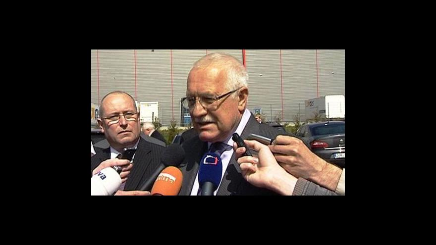 Video Vyjádření Václava Klause