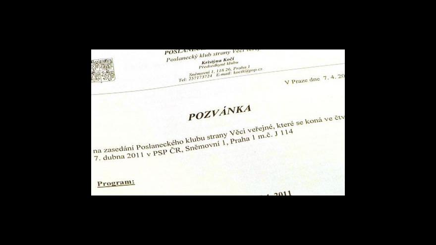 Video Vstup Jitky Szászové ve 21:00