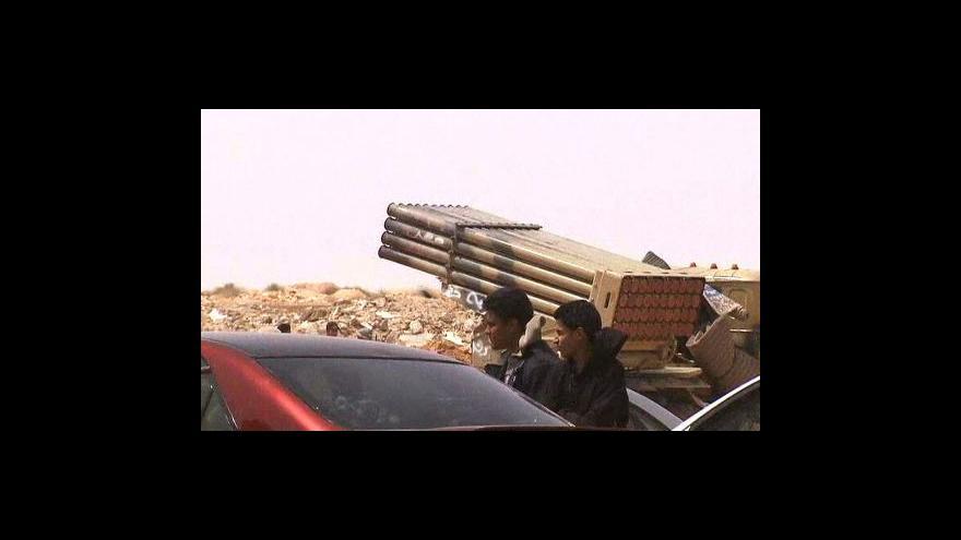 Video Libyjští povstalci mají televizi
