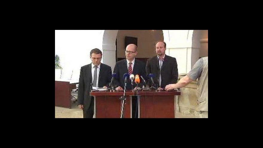 Video Tisková konference ČSSD