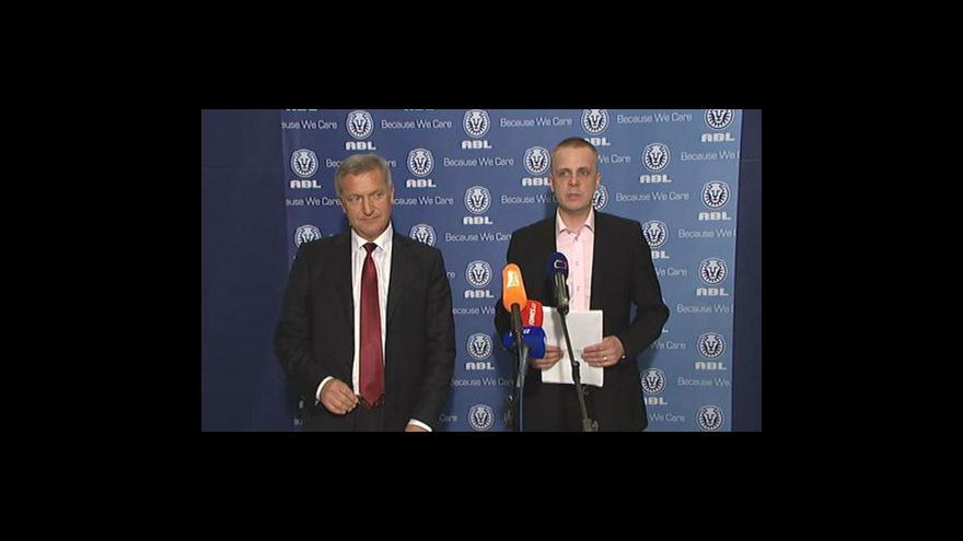 Video Brífink ABL a Prominecon k financování VV