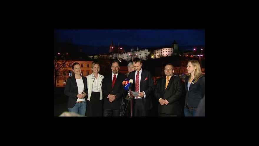 Video Brífink Víta Bárty o jednání Jaroslava Škárky