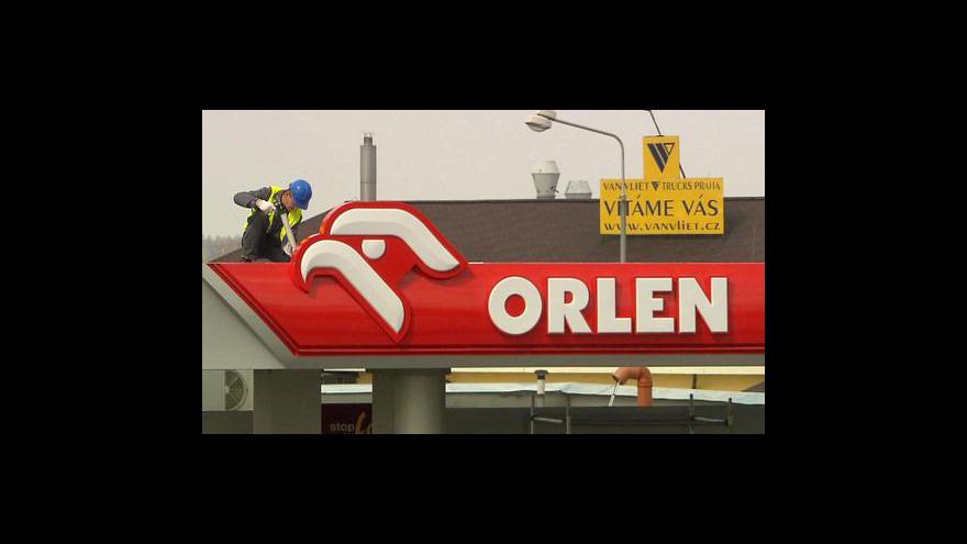 Video Benzina se mění v Orlen