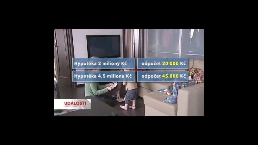 Video Rušení hypotečních odpočtů se ruší